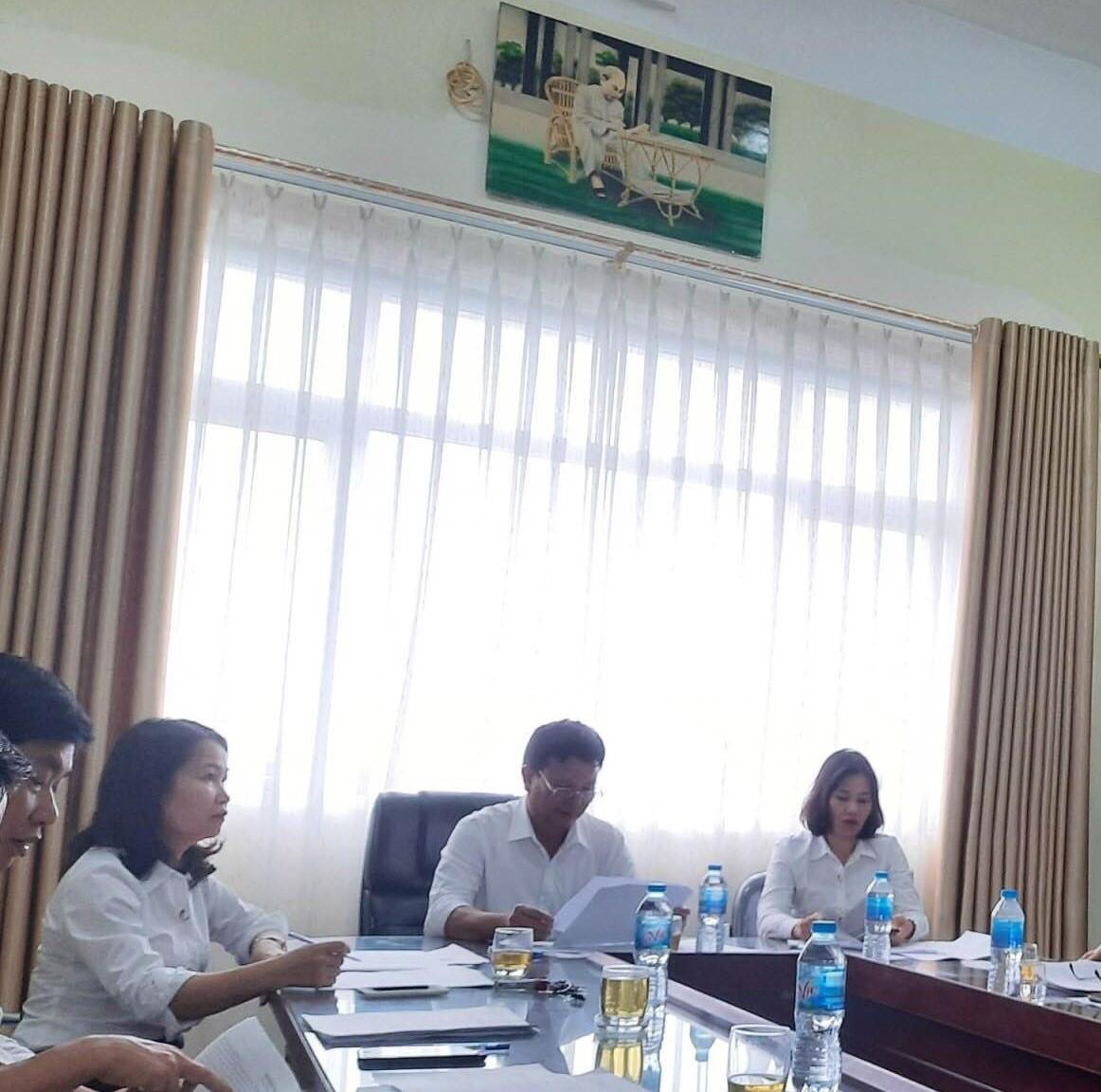 Hội nghị viên chức, người lao động Trung tâm Thông tin Thư viện năm học 2020 - 2021