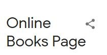 The Online Book Page
