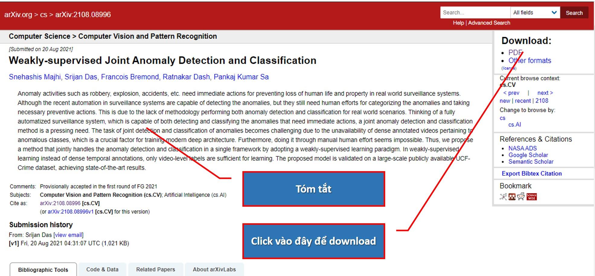 Truy cập 2 triệu bài báo học thuật với tài nguyên mở arXiv