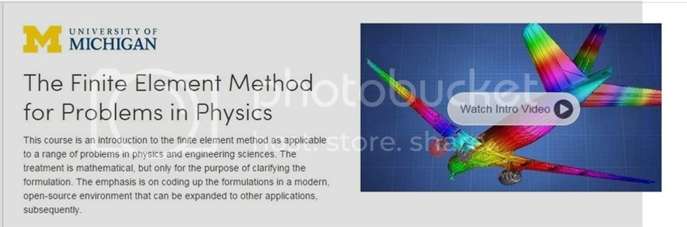 [Coursera] The Finite Element Method for Problems in Physics