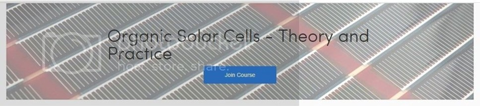 [Coursera] Organic Solar Cells - Theory and Practice
