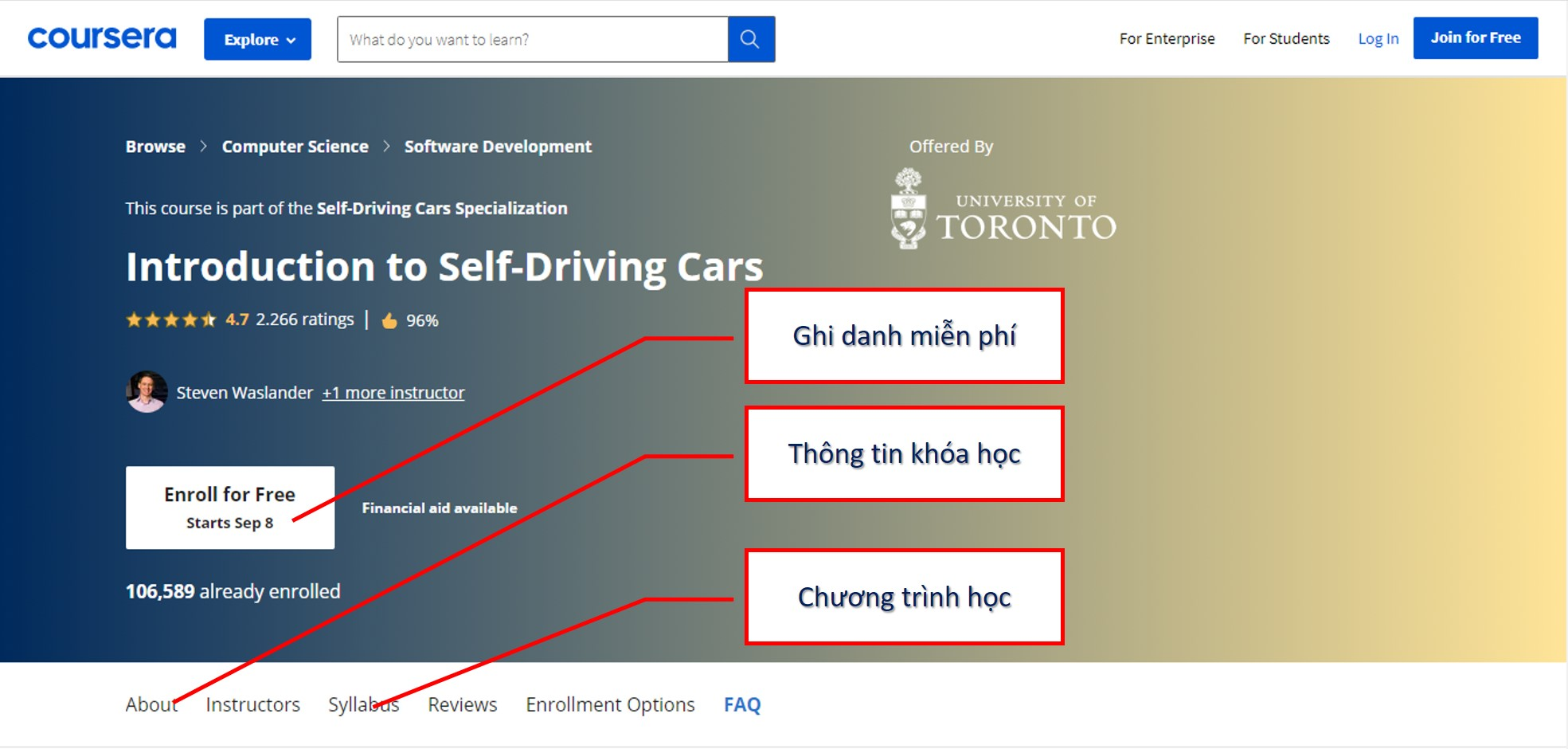 Introduction to SelfDriving Cars