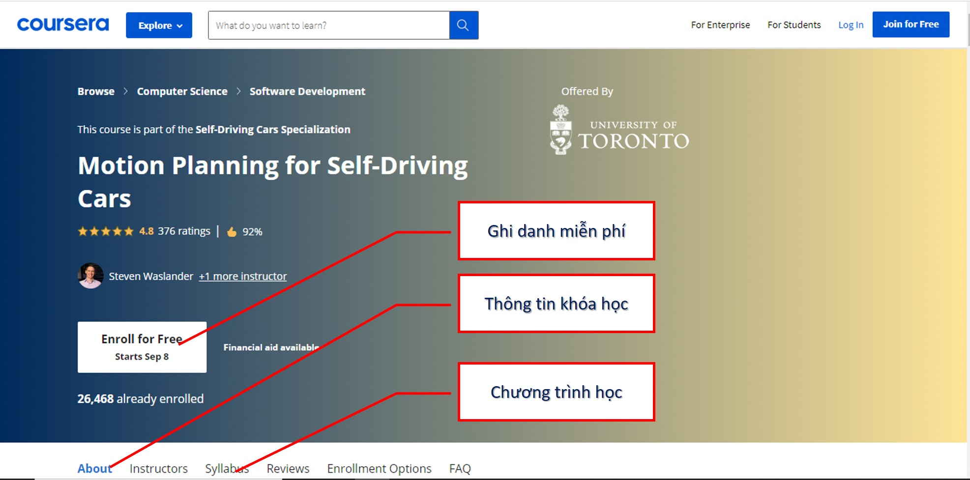 Motion Planning for Self-Driving Cars