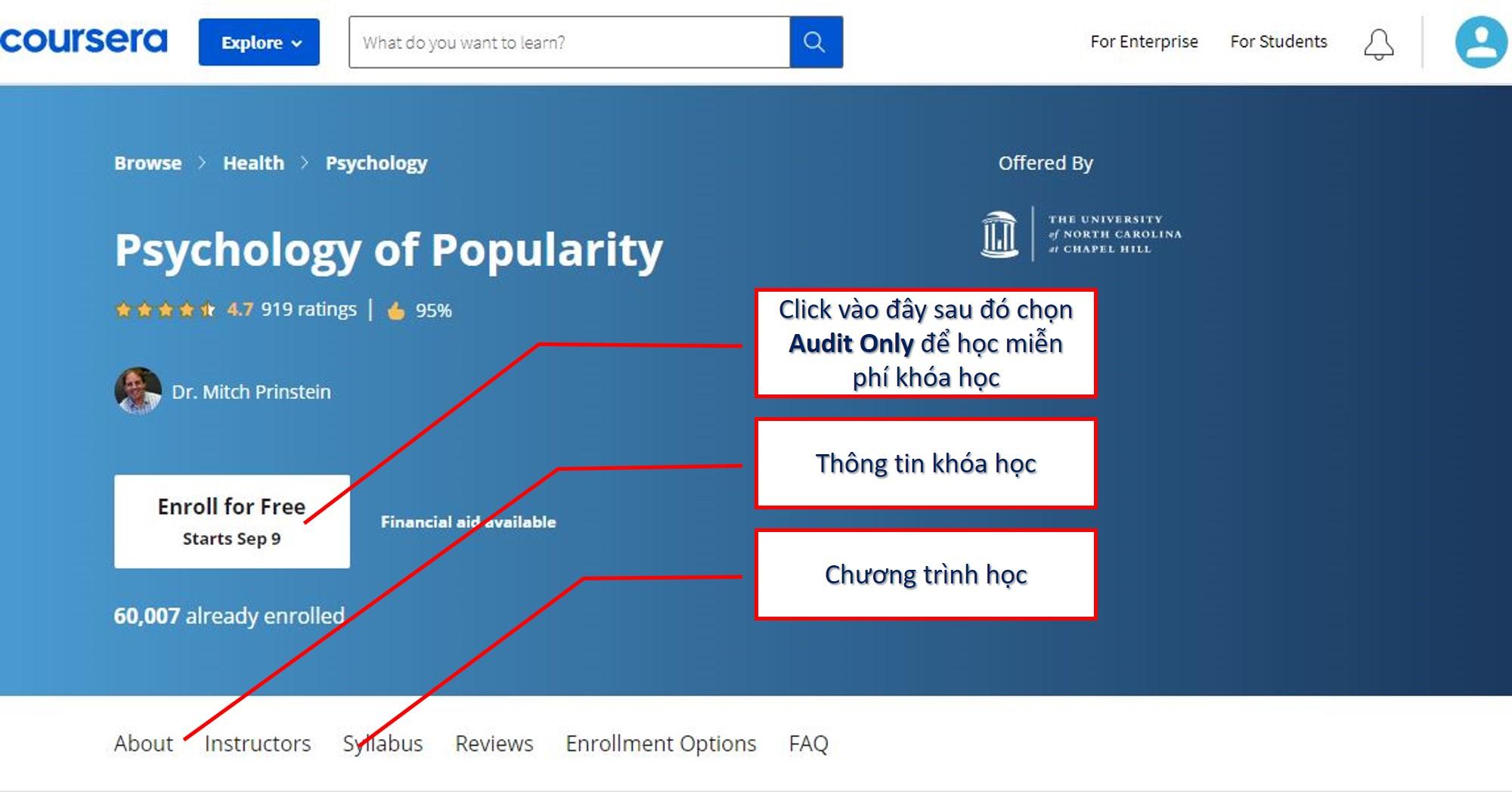 [Coursera] Psychology of Popularity