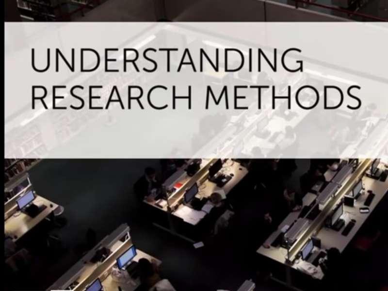 """[Coursera] Khóa học """"Tìm hiểu các phương pháp nghiên cứu"""" của ĐH Luân Đôn"""